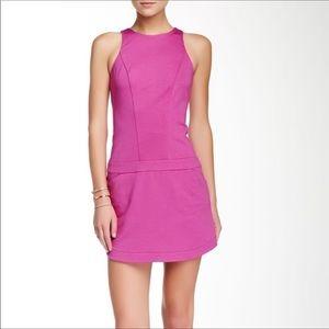 Trina Turk Covina Ponte Pink Shift Dress